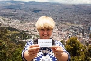 Mihaela in Bogota