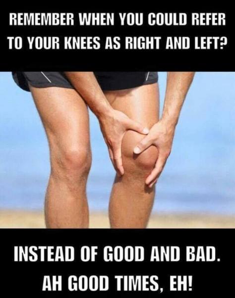 accidentare genunchi