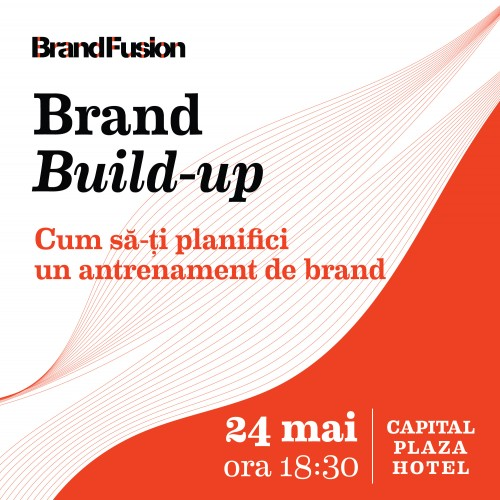 Lansare Brand Build-up 24 mai
