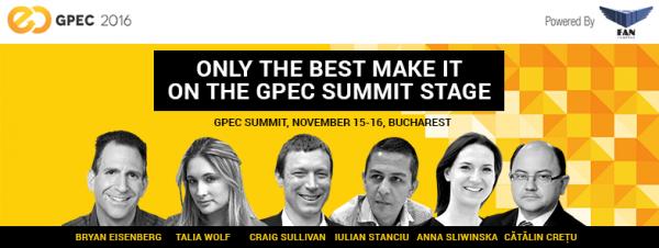 Concurs – Câștigă o invitație la GPeC Summit, pe 15 și 16 noiembrie
