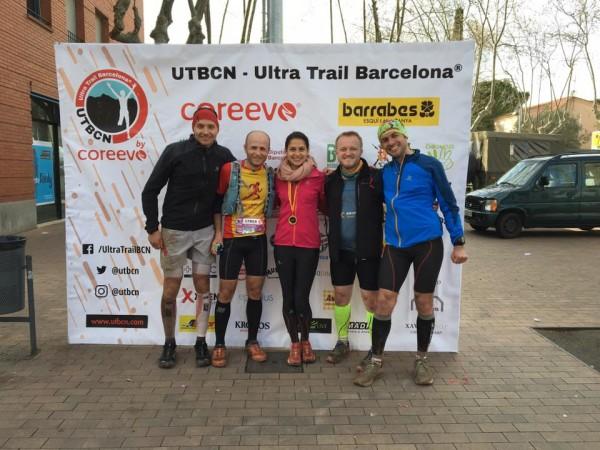 Ultra Trail Barcelona - Primul maraton montan si primul podium in Spania