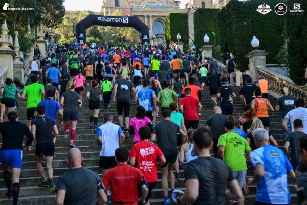 """Salomon Run Barcelona –  cursa cu dealuri si trepte """"rompe piernas"""""""