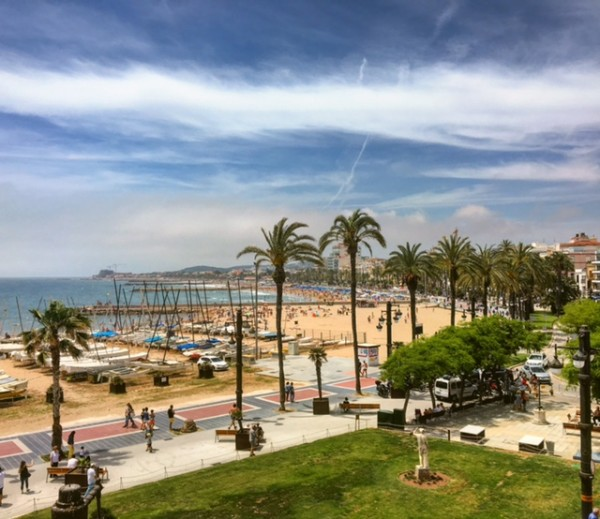 Plaja din Sitges